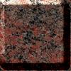 Multicolor red granite worktop photo