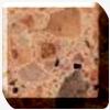 zodiaq alpha brown quartz worktop photo in uk