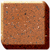 Red rock avonite worktop photo