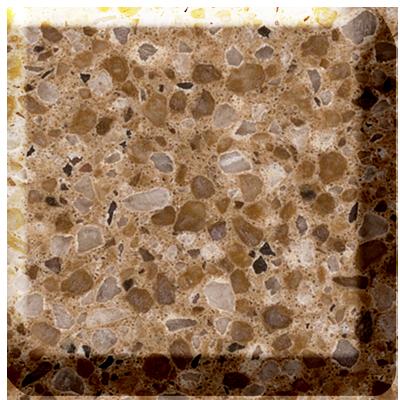 Caramel Caesarstone Quartz Worktop Photo