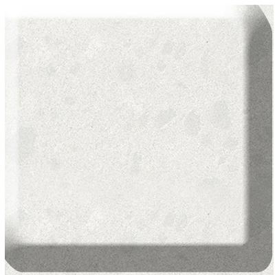 Organic White Caesarstone Quartz Worktop Photo