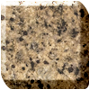Giallo imperial granite worktop photo