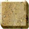 Golden beach granite worktop photo
