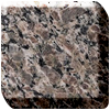 Harvest brown granite worktop photo