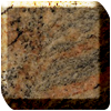 Kashmir gold granite worktop photo