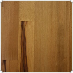 Rustic beech hardwood worktop photo